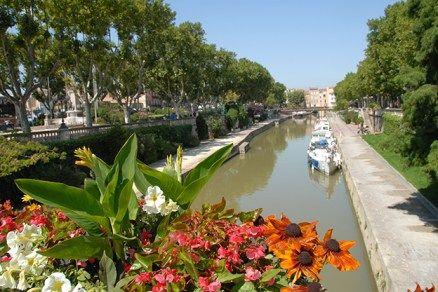 F/Languedoc-Roussillon/Narbonne: Canal de la Robine