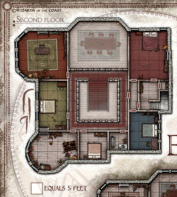 Image Of The Elrevien Mansion Digital Download Rpg