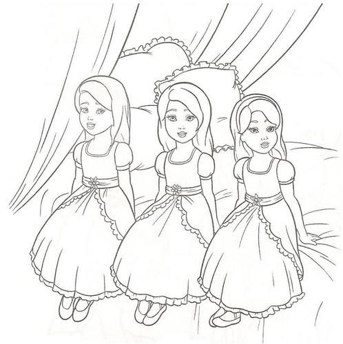 elegant barbie coloring pages free large images mcoloring