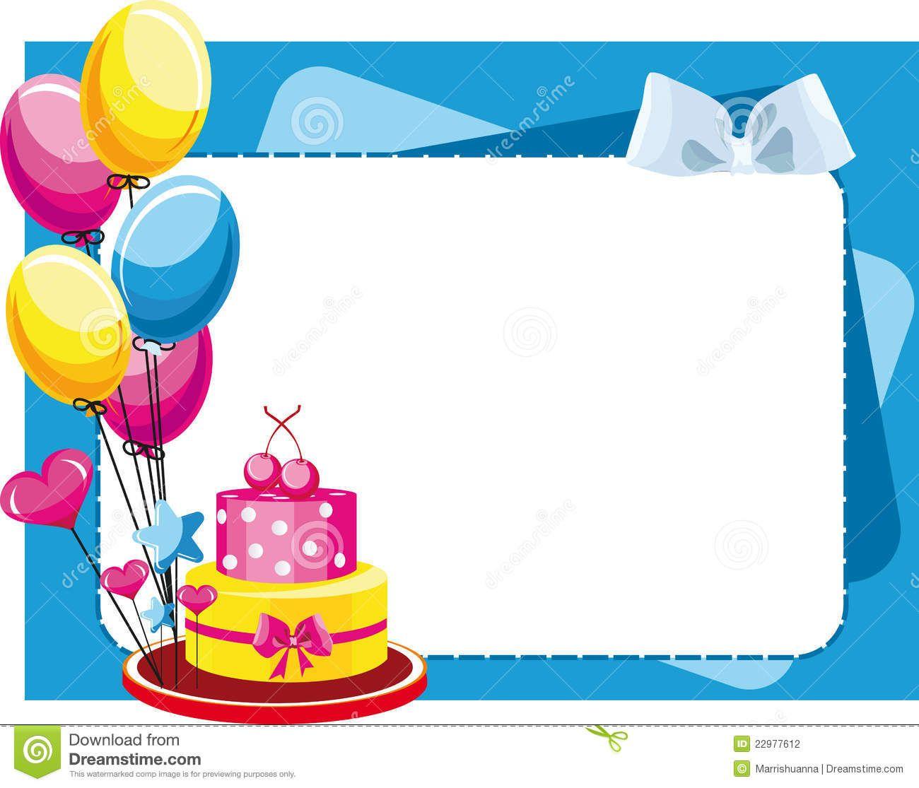 Torta congratulatoria con los globos para el cumplea os y - Que hacer para cumpleanos infantiles ...