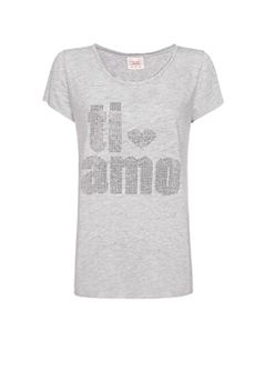 Lose-fit strass t-shirt $12