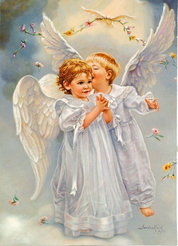 Открытки с ангелами для семьи