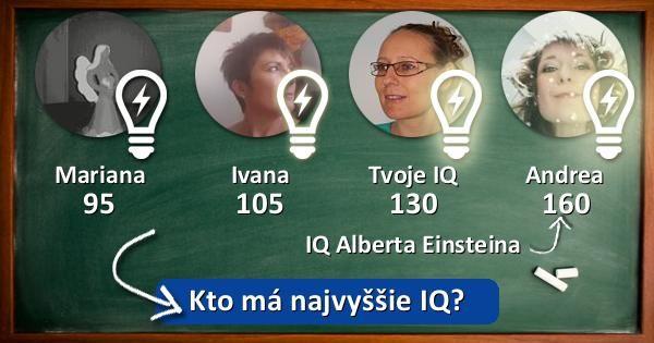 Kto má najvyššie IQ?