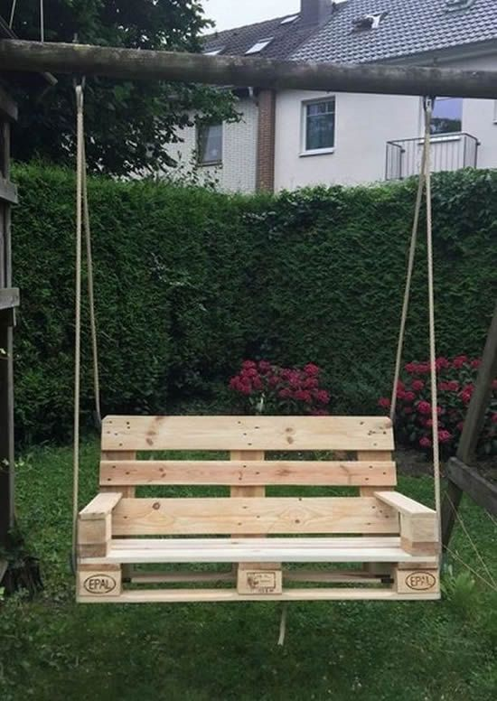 Amazing DIY ideas with pallets for the garden