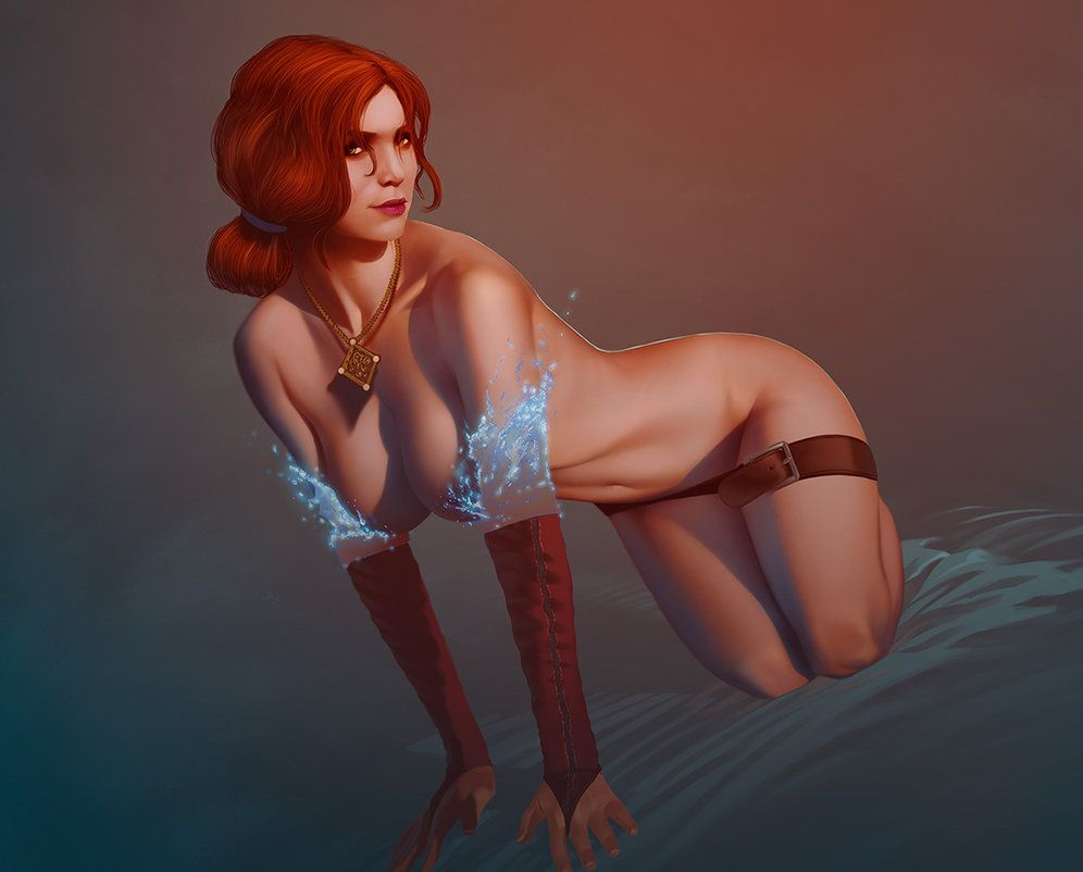 The witcher triss rule 34