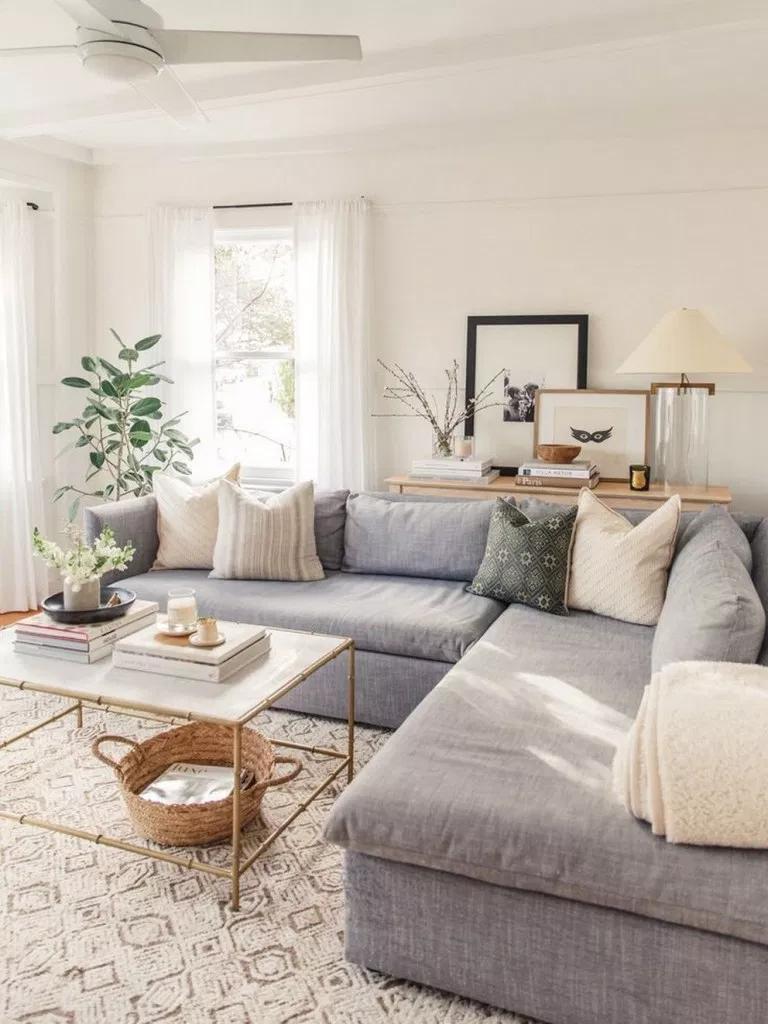 75 Minimalist Furniture Ideas For 2019 Apartmentdecorating Livingroom Apartm Living Room Grey Small Apartment Decorating Living Room Farm House Living Room