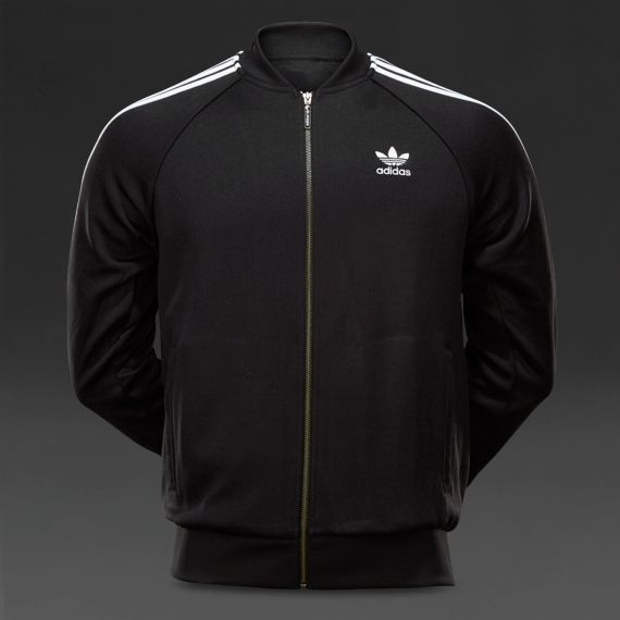 adidas Originals Mens Superstar Tracktop - Black