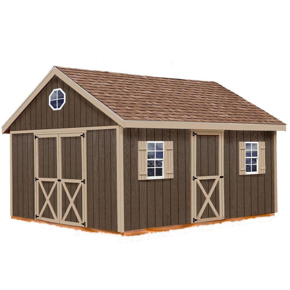 Garden Sheds 20 X 12 best barns easton 12 ft. x 16 ft. wood storage shed kit