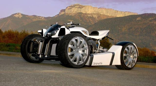 Lazareth Quadrazuma Quad Bike (Interesting...)