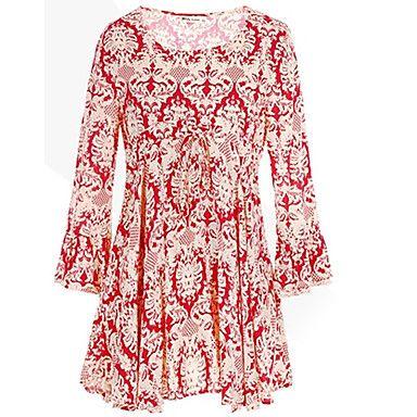 causual delle donne dior maglietta stampa floreale collare tutto-abbinato del 2015 a €15.19