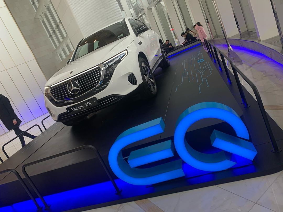 The Future Is Here Mercedes Benz Eqc400 Merrychristmas Mercedes Benz Eqc Eqc400 Electric New White Future A Benz Mercedes Benz Mercedes
