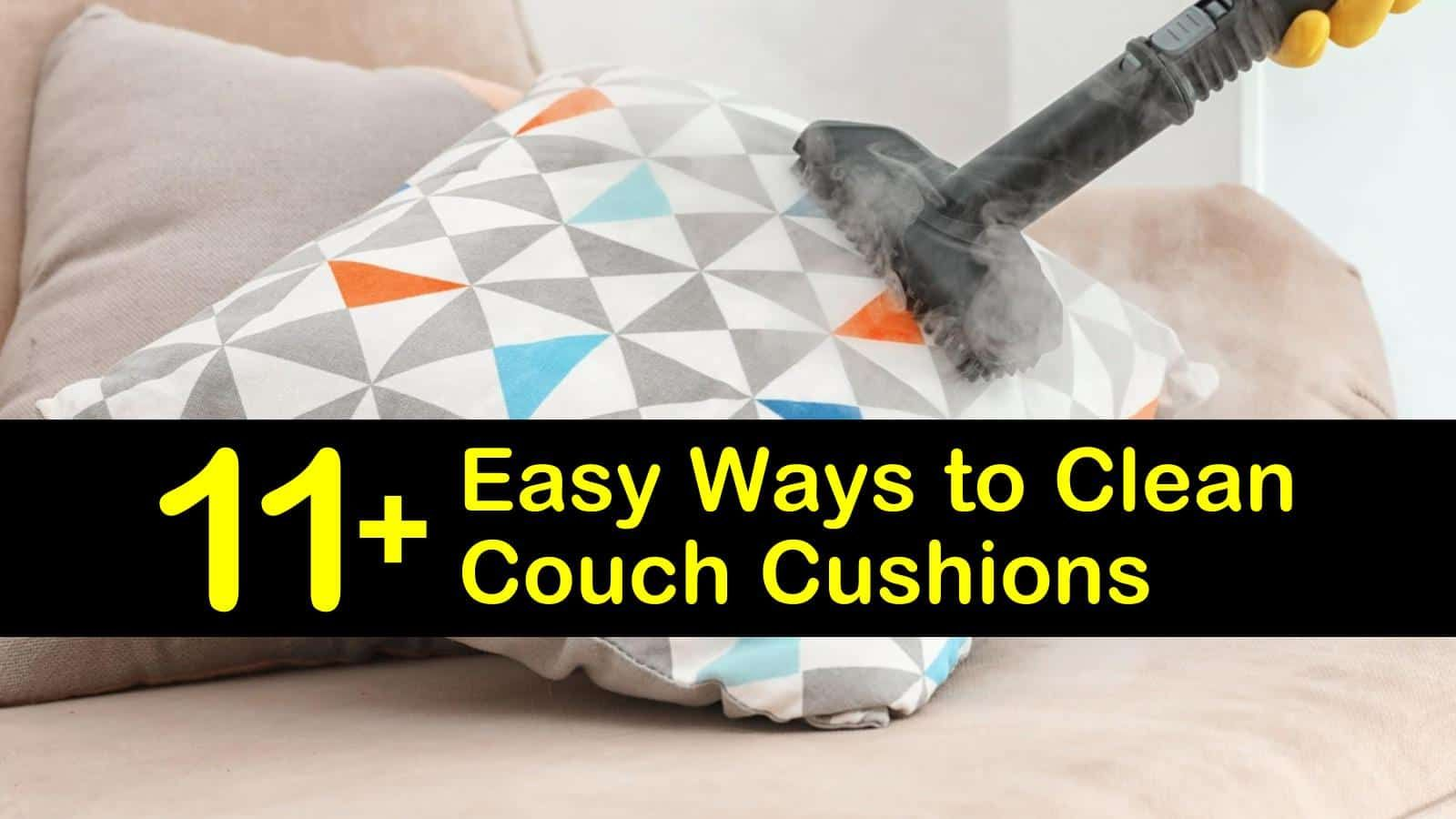 11+ Easy Ways to Clean Couch Cushions in 2020 Clean