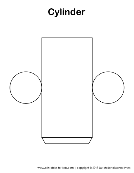 Cylinder Template--also has templates to other 3d figures ...