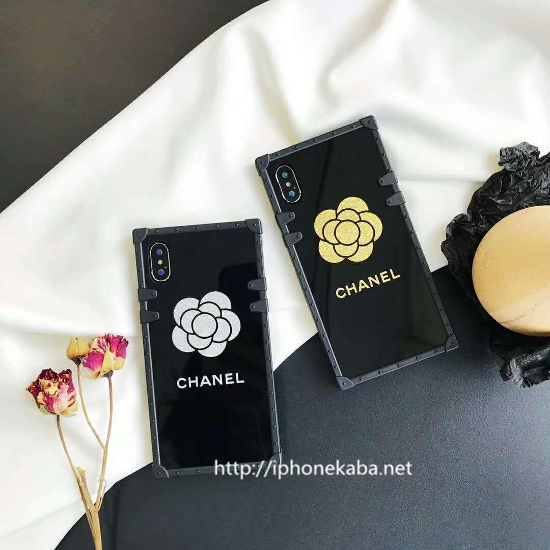 a2f1d9d038 CHANEL ブランド アイフォンx ケース ルイビィトン iphone8/7 ジャケットケース スクエア アイフォン6sカバー 鏡面