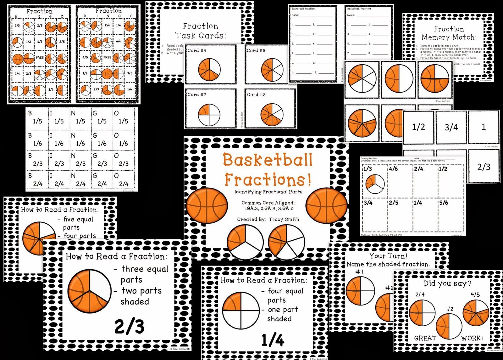 Basketball Fractions