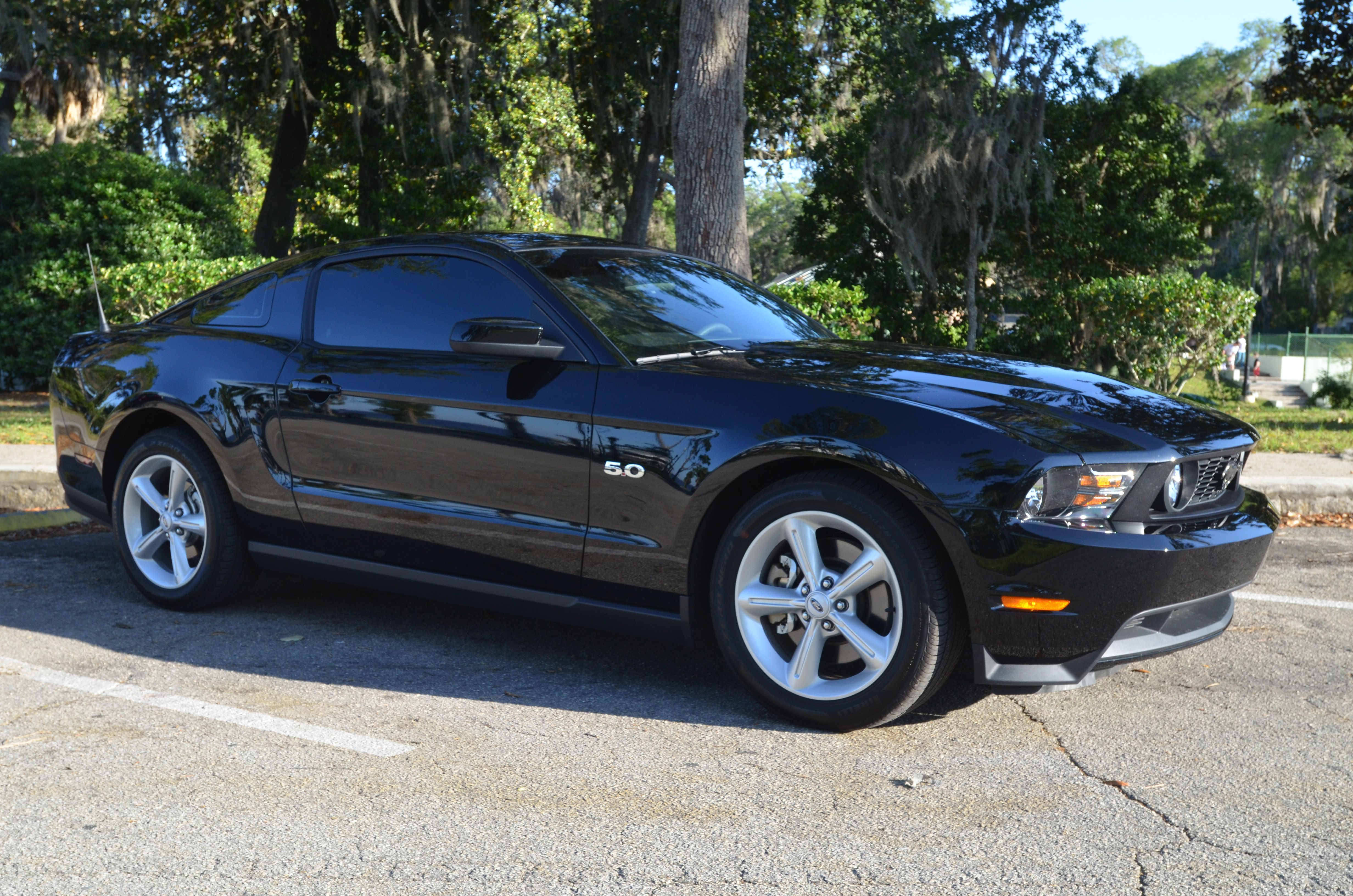 Ford Mustang GT 5 0 car used in the Great American Car War TV show