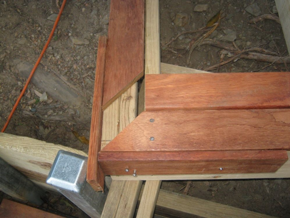 Border Framing Around Deck Diy Deck Outdoor Living Deck Deck Framing
