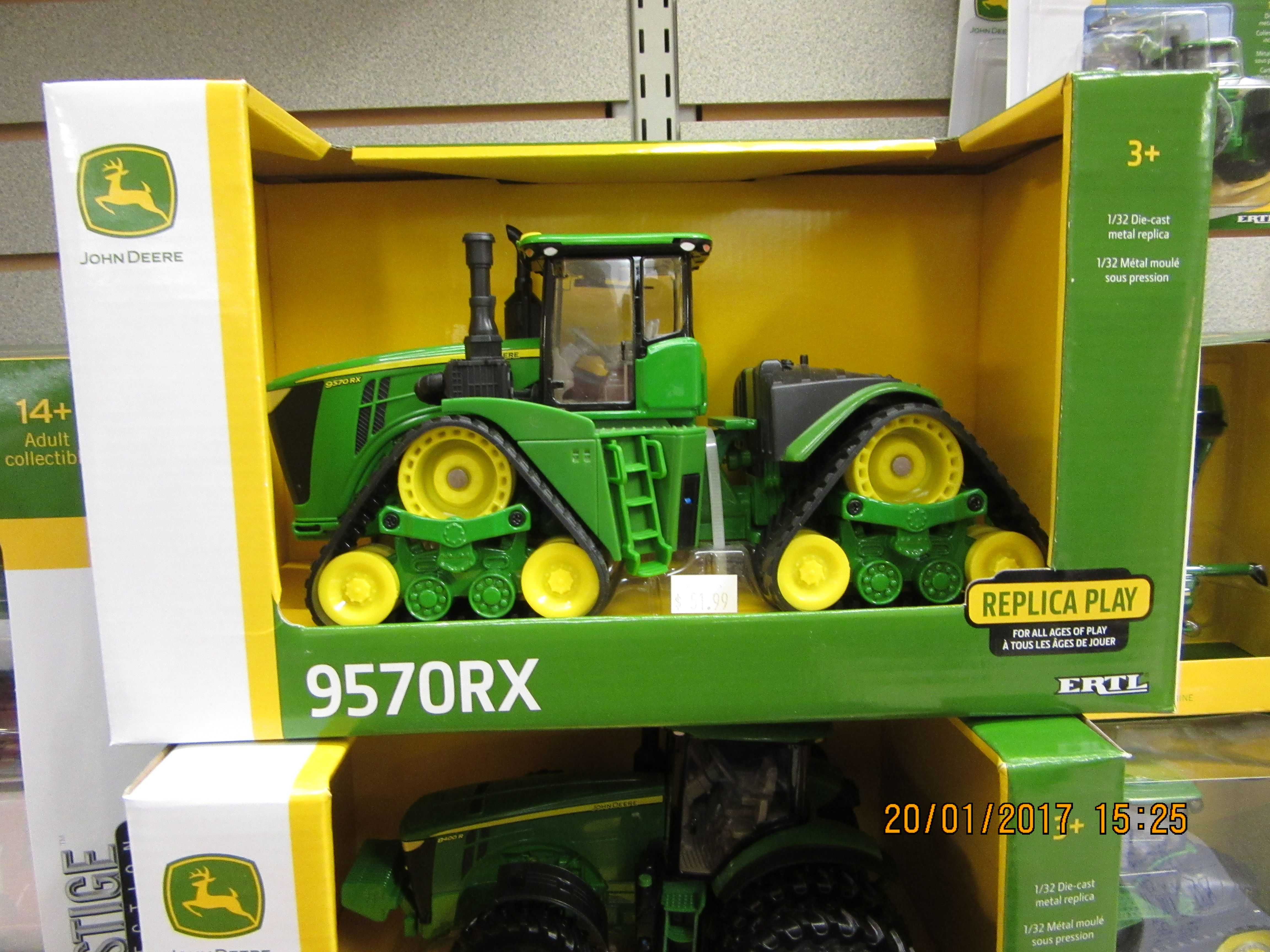 Eventually brought this 1 32nd John Deere 9570RX