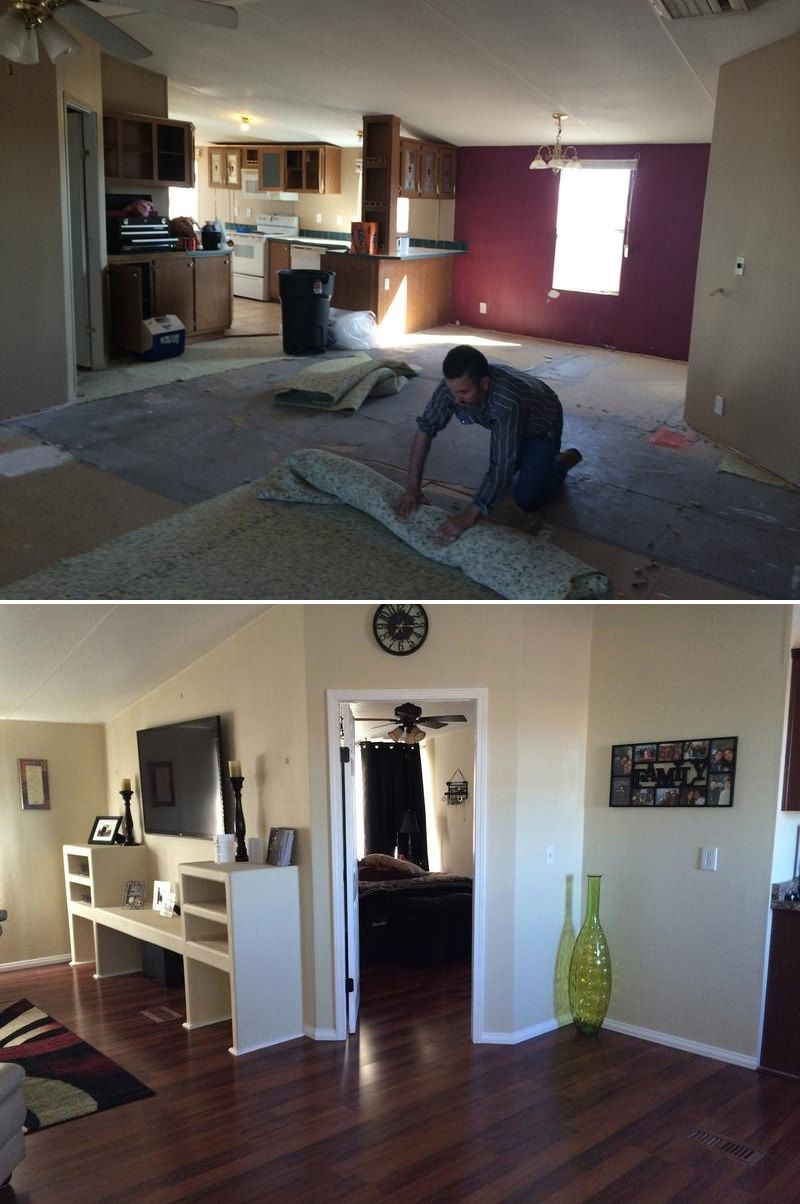 Total home remodel! Check out Adriana living room upgrade ...