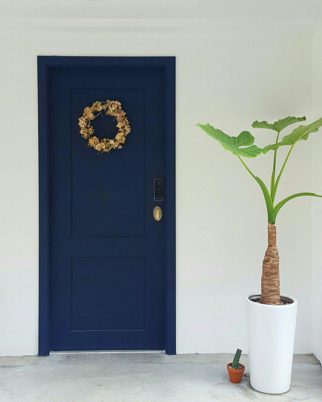 문디자인 식물과 함께 이런 현관문 어때요...  interior  Pinterest ...