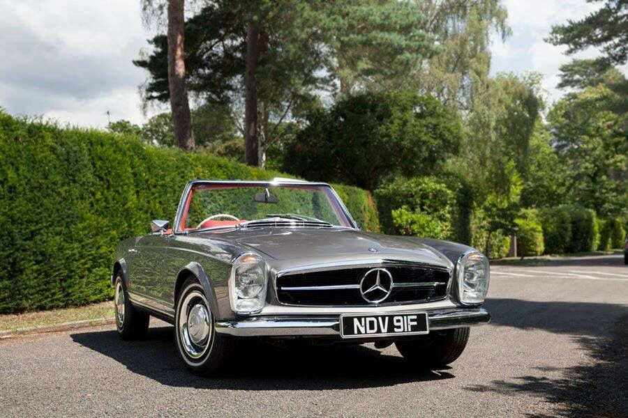 Beautiful SL Pagoda | Classic Mercedes-Benz | Pinterest | Classic ...