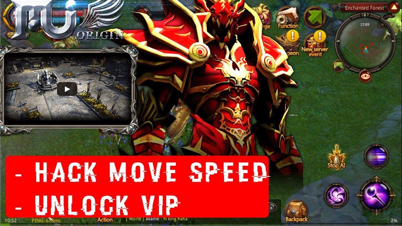 MU Origin SEA Mod Apk - Hack Move Speed x3, Unlock Vip 12