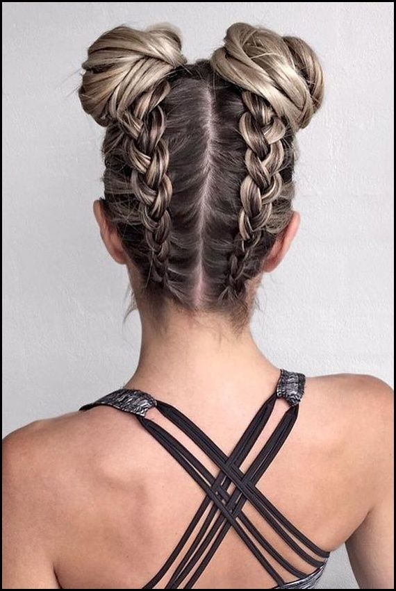 Haare Flechten Seitlich Am Kopf Anleitung Hairstyle Frisuren Meine Frisuren Geflochtene Frisuren Frisur Ideen Flechtfrisuren