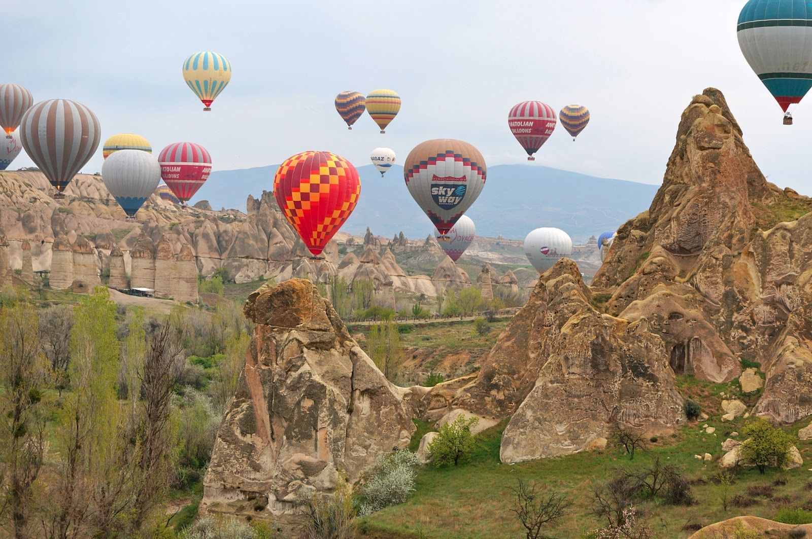 Cappadocia Hot Air Balloon Cave Hotel and Cyprus Island