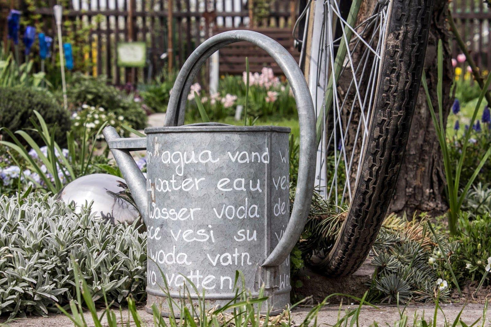 Foersters Gruner Daumen Giesskanne Garten Deko Zinkgiesskanne