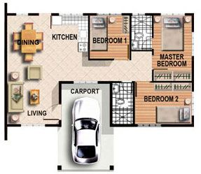Floor Plan 3 Bedroom Bungalow House Philippines Skill Floor Interior