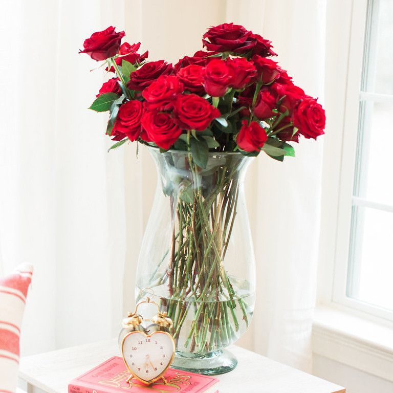 Two Dozen Roses from Colonial House of Flowers | Statesboro Valentine Florist Shop