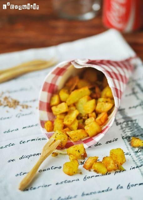 Patatas fritas especiadas   L'Exquisit