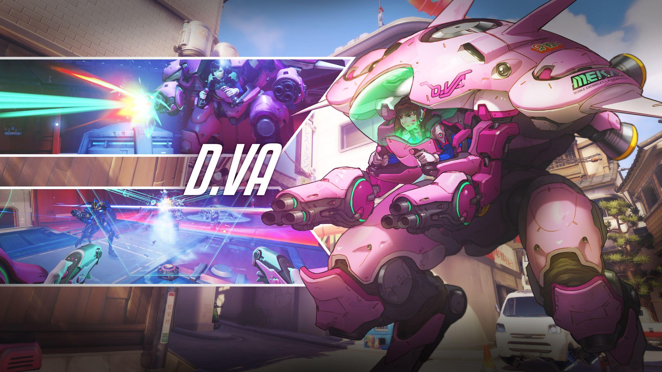 Overwatch D Va Wallpaper Desktop Wallpapers Overwatch Overwatch