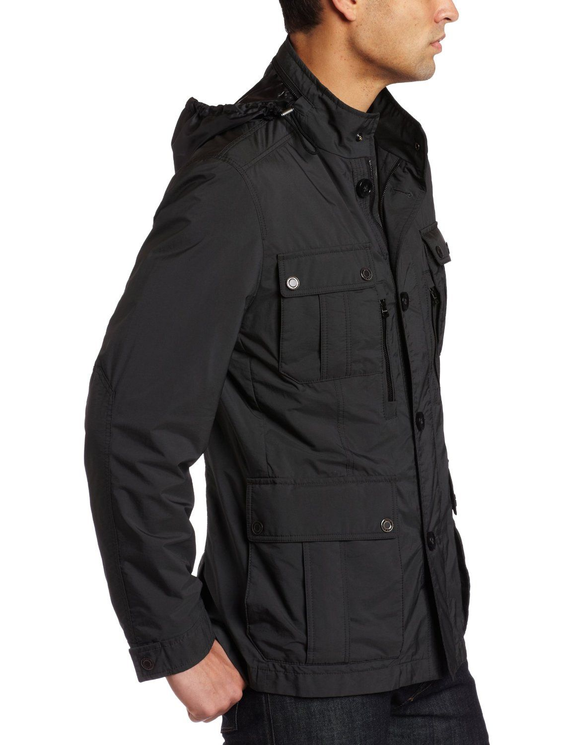 hugo boss mens casual jacket clothing and style