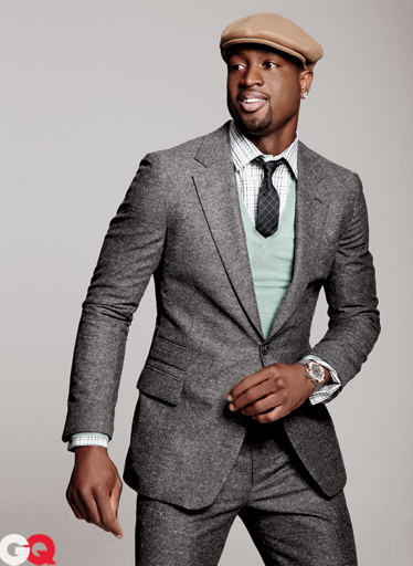 GQ always puts a spin on fashion for men but I would love to see them do an issue for larger guys! But this suit is dope!
