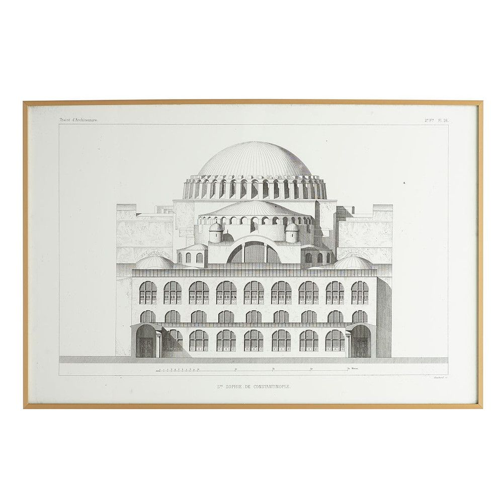 Hagia Sophia Exterior Elevation 2 New