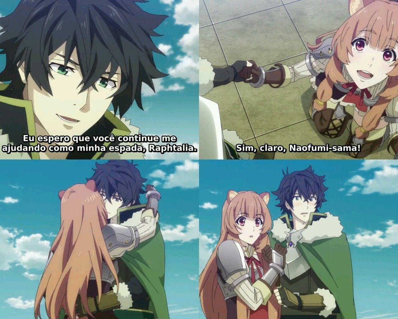 anime tate no yuusha naofumi raphtalia Memes engraçados
