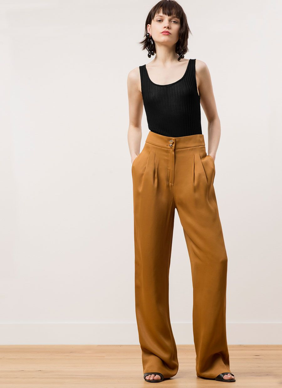 c56cf9210ea Wide-leg trousers   Sartorial Strategies   Trousers, Wide leg ...