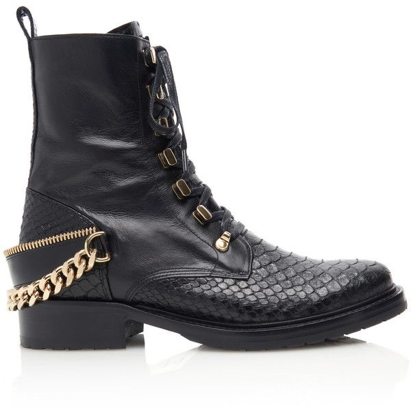 Buy Cheap Footlocker Finishline Free Shipping Sale Lanvin Python Ankle Boots OX2kbGAmh