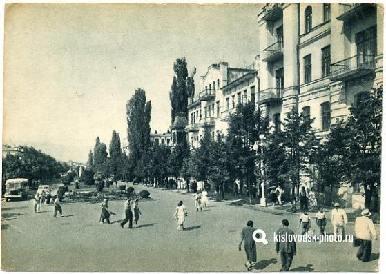 Кисловодск. Старое фото. 1950 год. Kislovodsk. Old photo ...