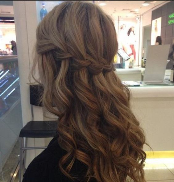 Tresse Cascade Cheveux Ondules Beaut 233 Tresses