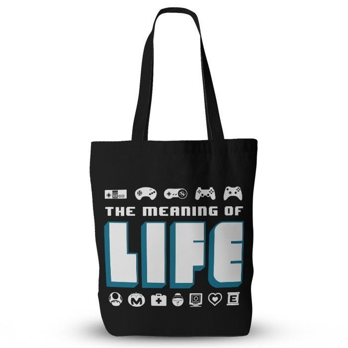 The Meaning Of Life Tote Bag