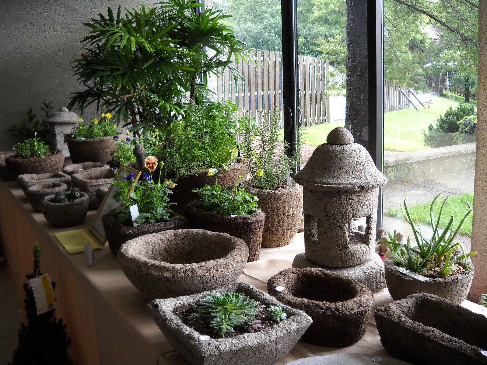 STONE ARTISANS Garden Ornaments And Planters: Hypertufa Planters, Bird  Baths, Lanterns At The