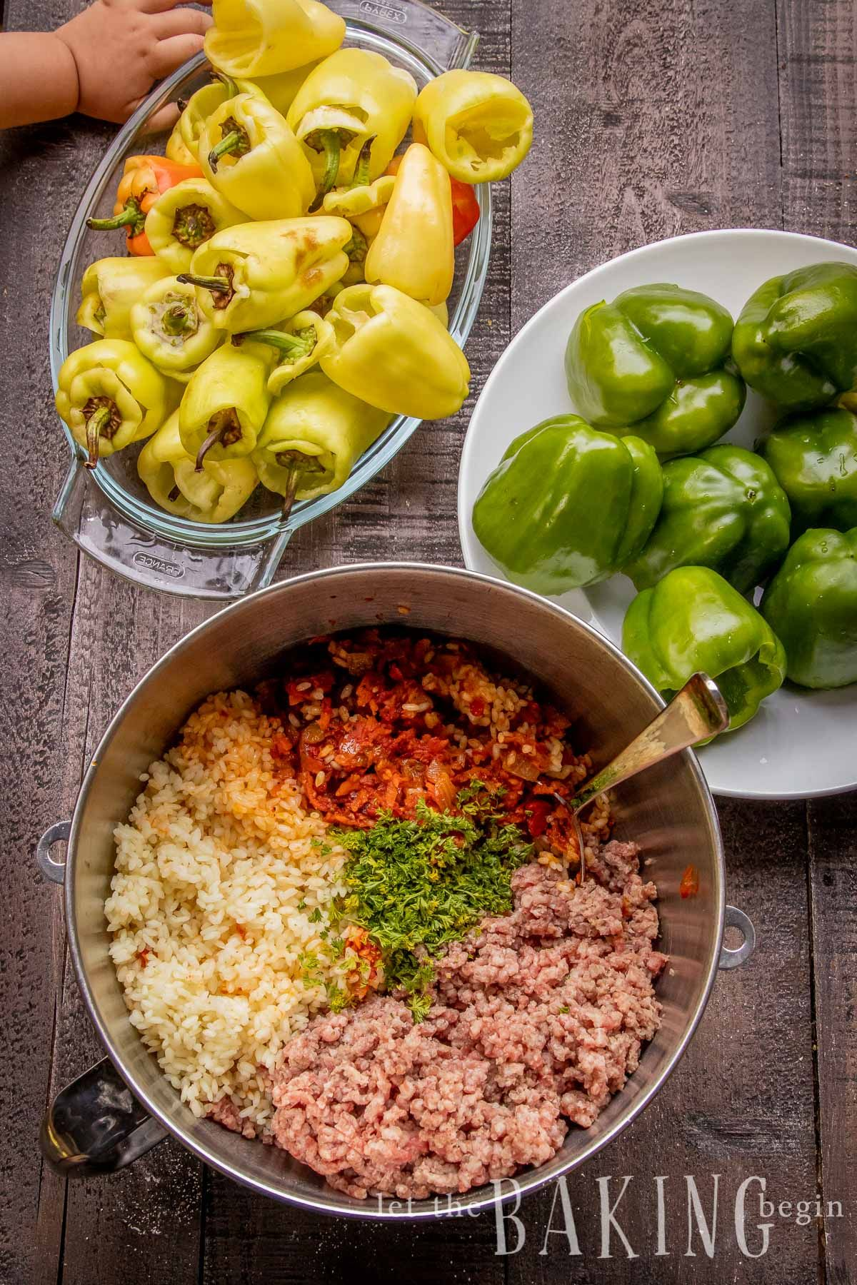 Stuffed Baby Peppers with Beef Rice are my kids favorite ...