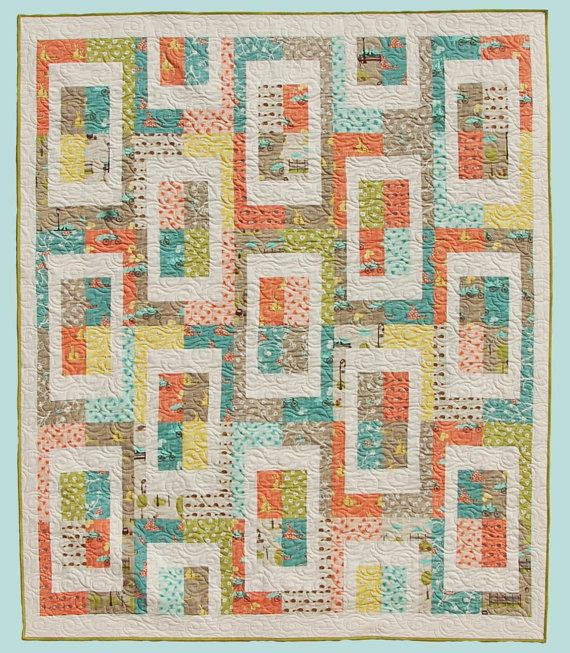 Meter Maid Quilt Pattern By Abbey Lane Modern Quilt Pattern Fat