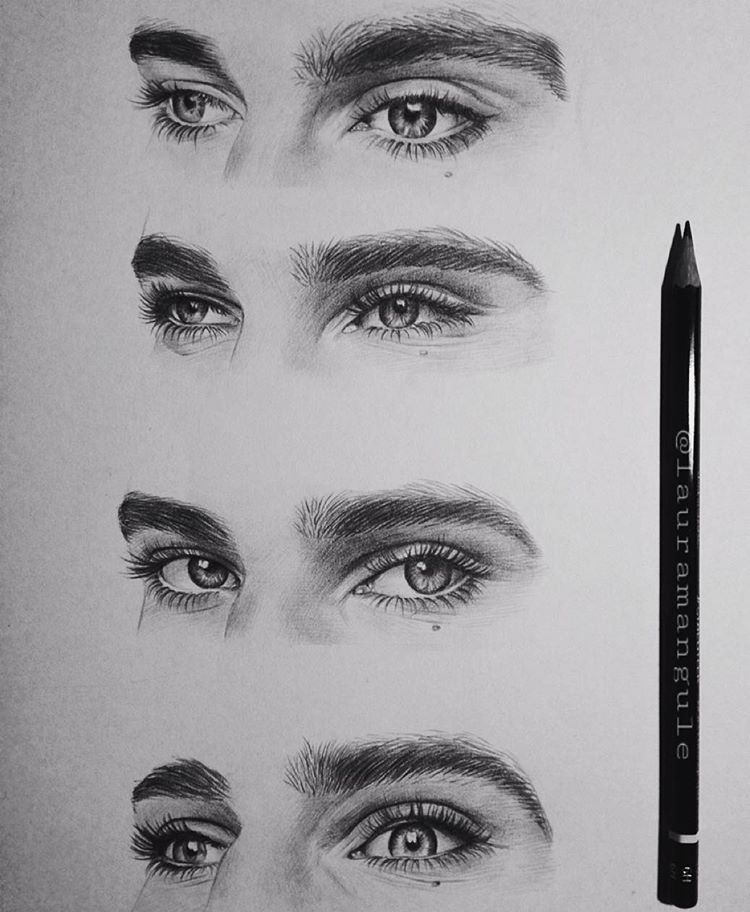 Spent 3 Hours Sketching Most Beautiful Eyes Ivarsbreathemeimers