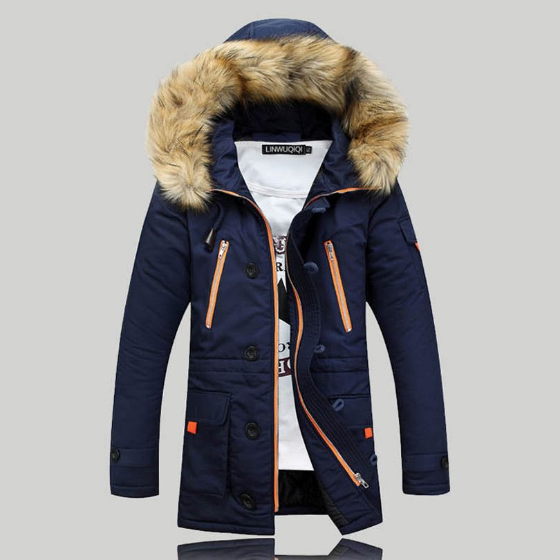 2016 New Winter Mens Parka Clothing Thicking Men Jacket Coat With ...