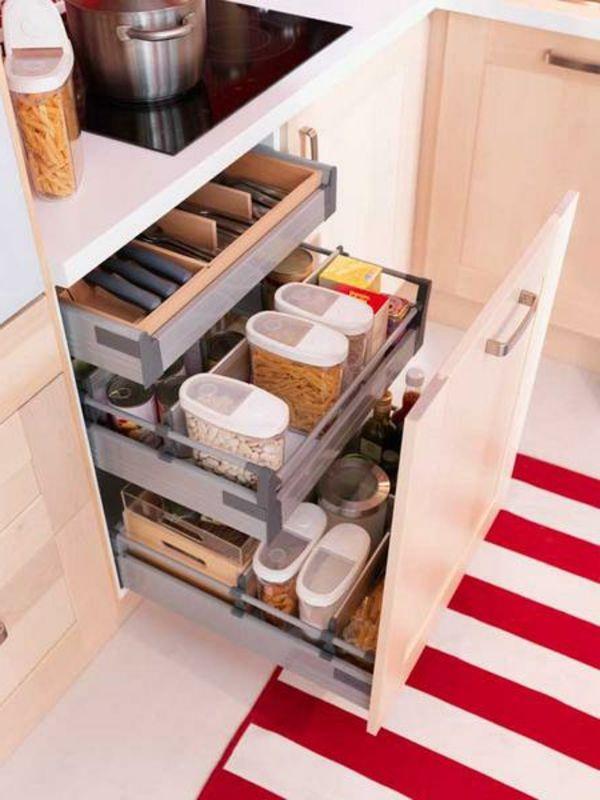 praktische Ideen Organization Küchenschubladen küche teppich essen - organisation kuchen schubladen