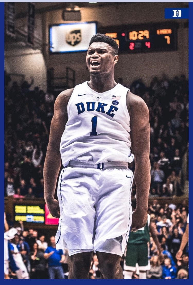 Zion Williamson Duke basketball, Zion, Williamson