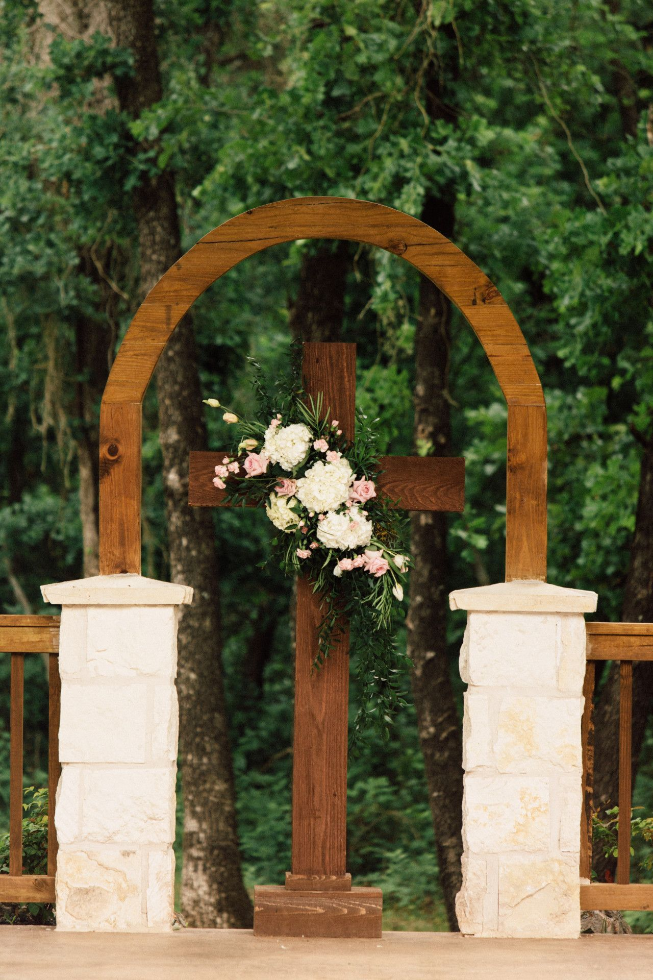 Wedding Venue Norman Oklahoma Wedding Arches Outdoors Vintage